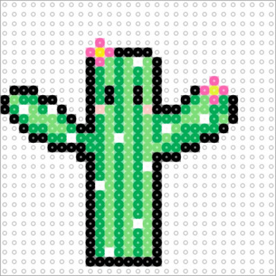 Cactus that my little sister made :p by emopancakes