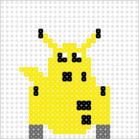 A-LT Droid / 39.1% - Pikachu v1 (small - 1 panel) by datteber